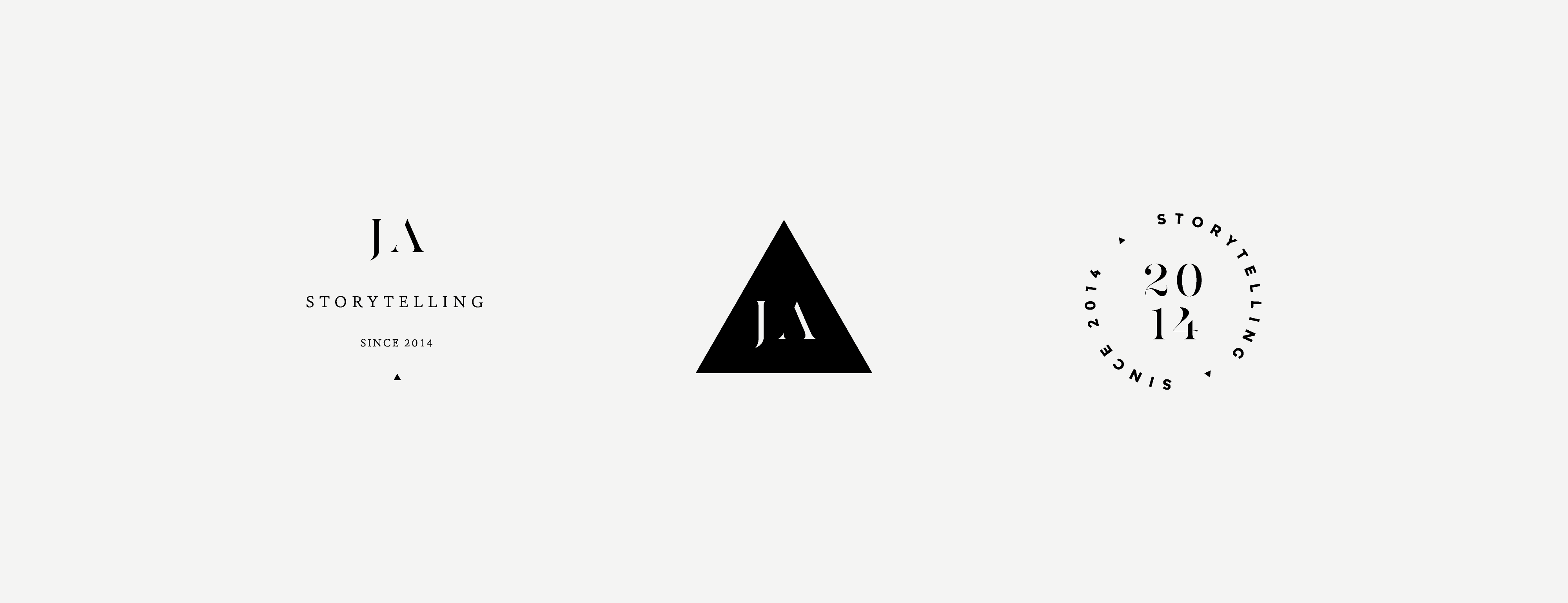 Mini Logos and Secondary Brand Marks for Photographer Jamie Allio's Brand Identity Design