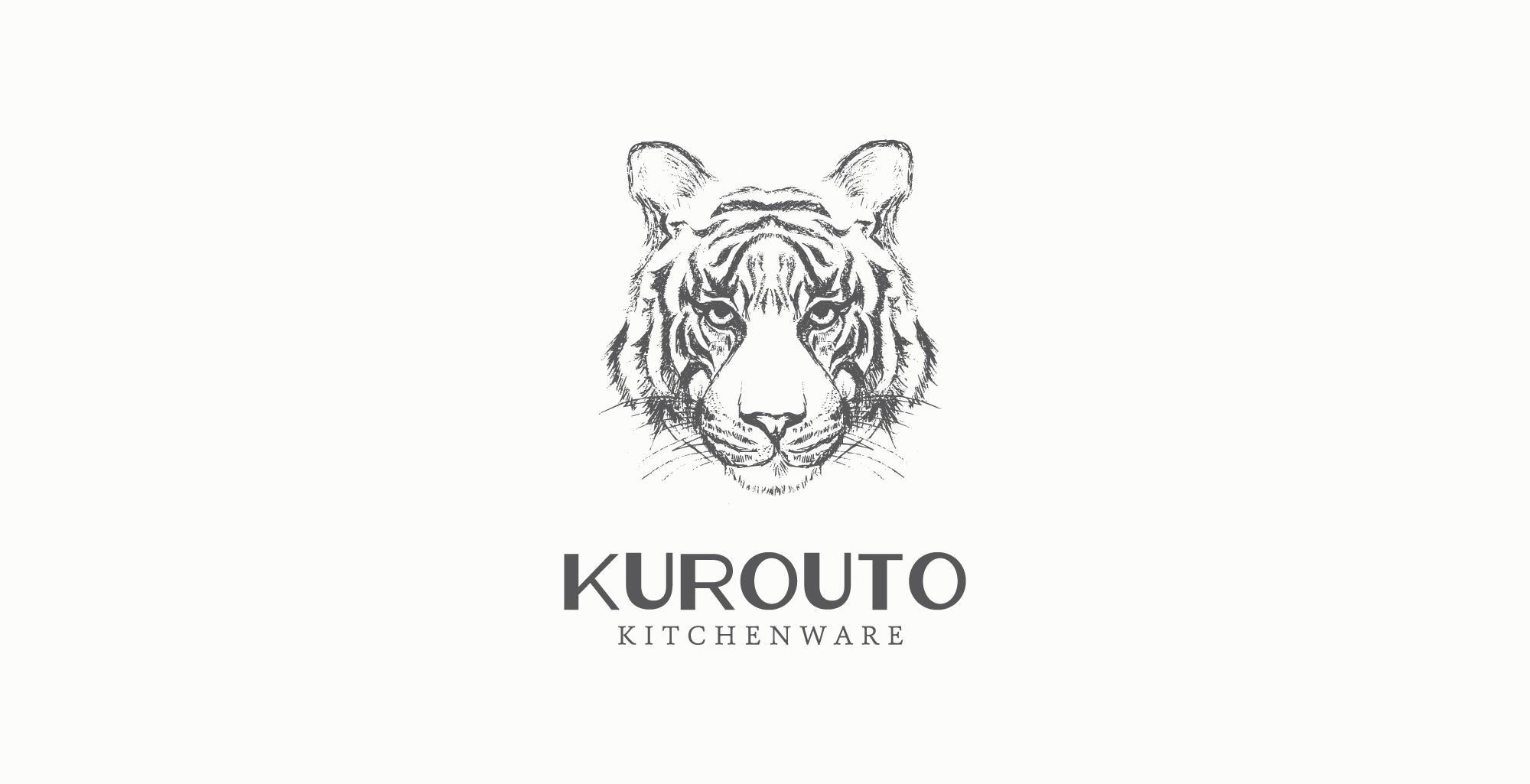 Brand Identity Design by Amarie Design Co. for Kurouto Kitchenware Lifestyle Brand