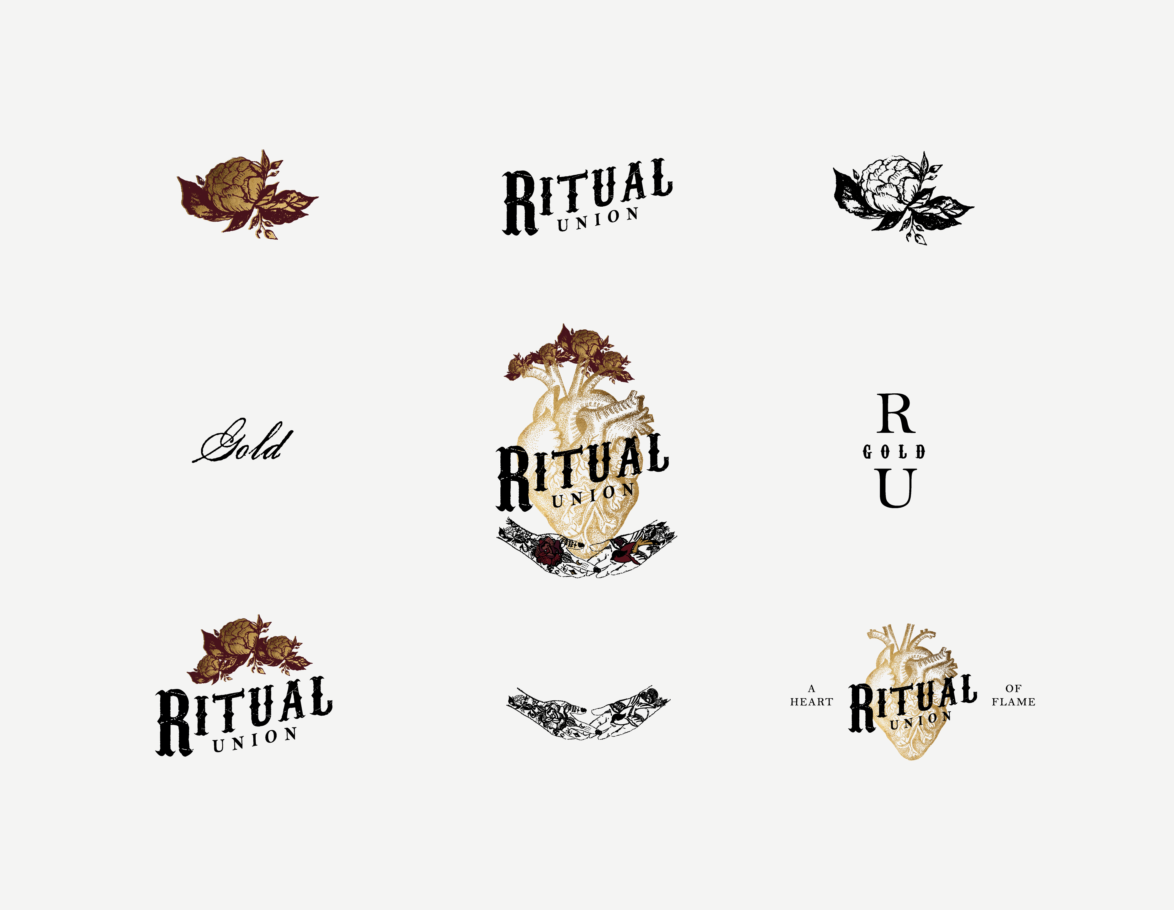 Amarie Design Co. Ritual Union Logo Design