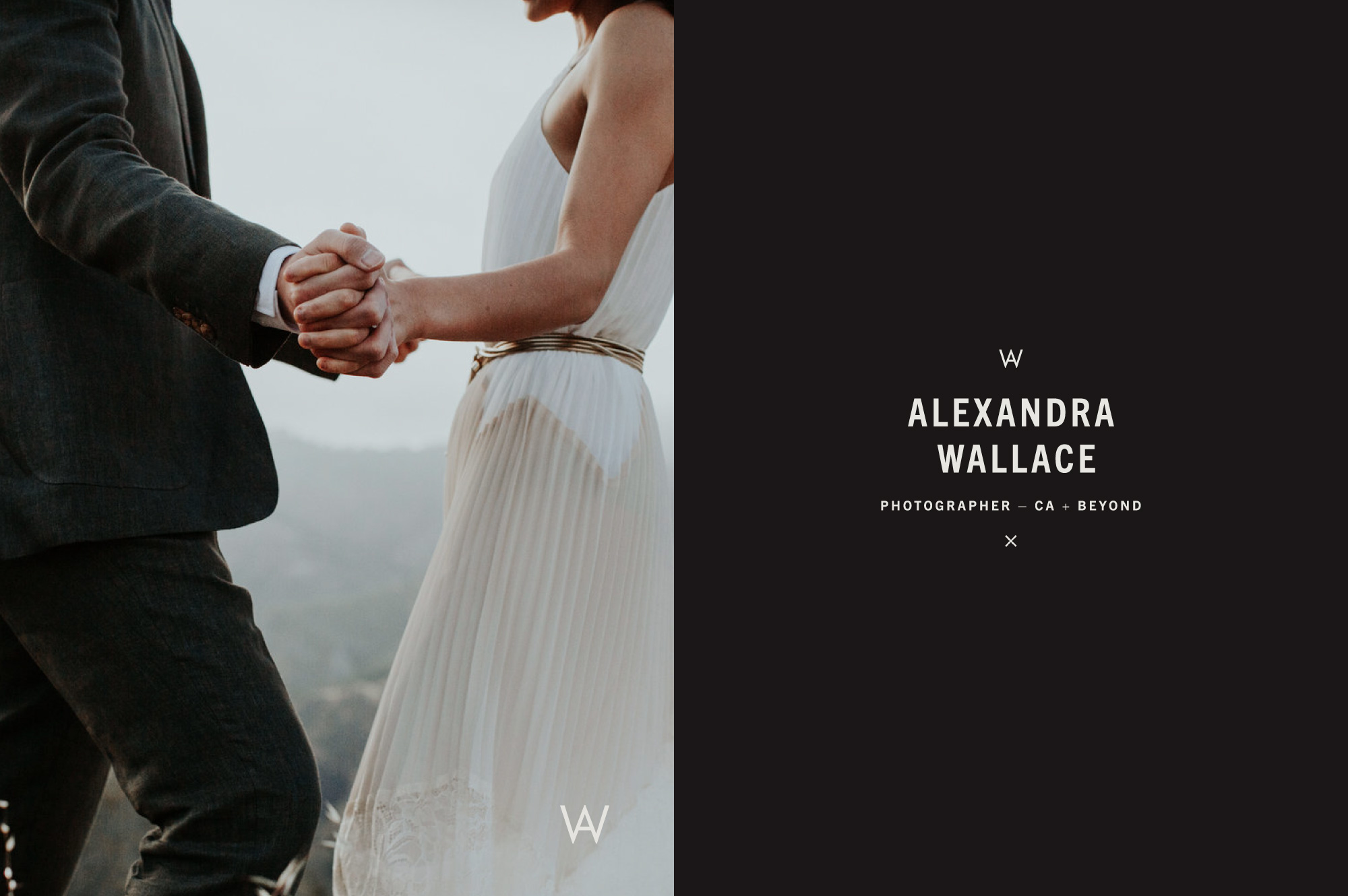 Branding and Brand Design for Central Coast California Engagement and Wedding Photographer